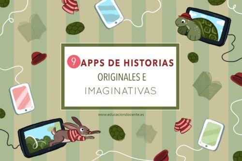 9 apps de historias originales e imaginativas