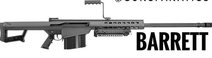 Fusil de precision Barrett
