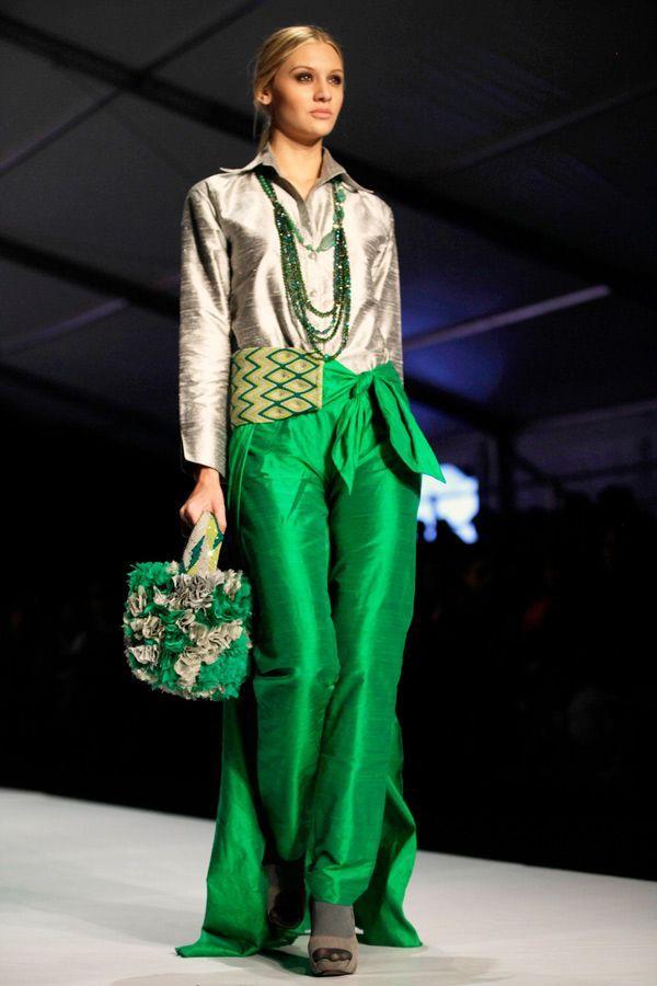 The designers' collective Wayuu, Bogota Fashion Week