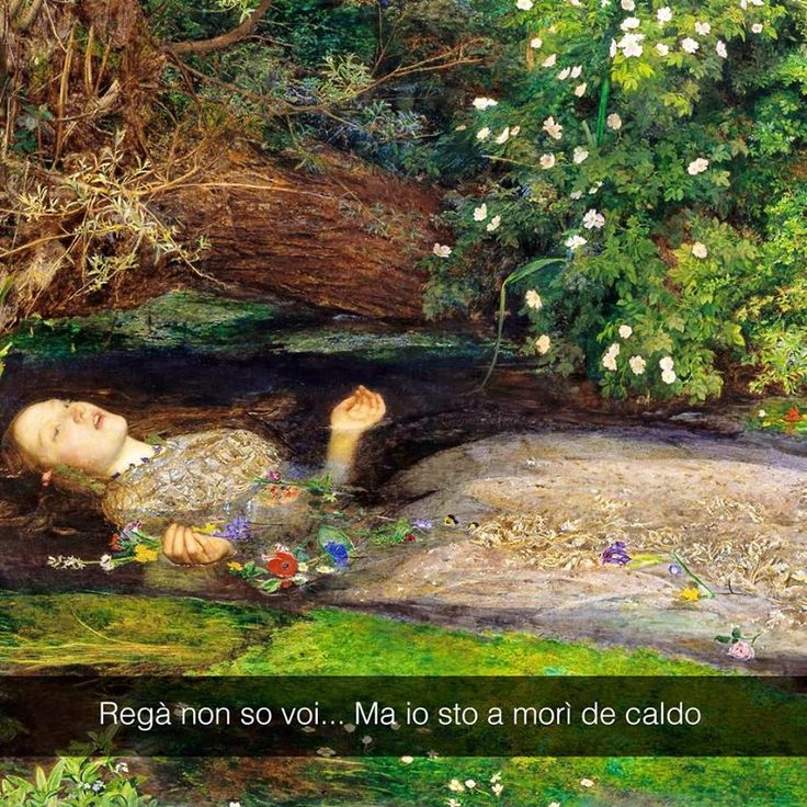 John Everett Millais - Ophelia (1852)