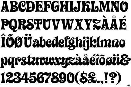 14 best fonts | 1960s style images on Pinterest