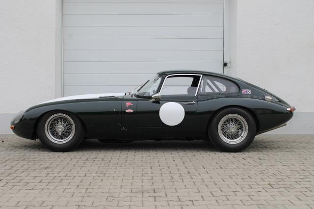 Jaguar E-Typ SI Anhang K + H-Zulassung