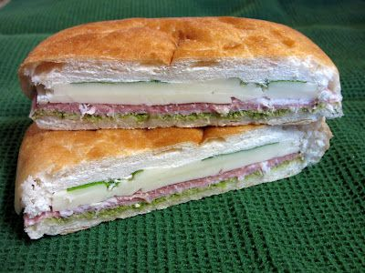 Italian Pressed Picnic Sandwiches- Perfect for a picnic. These sandwiches are packed full of amazing ingredients!
