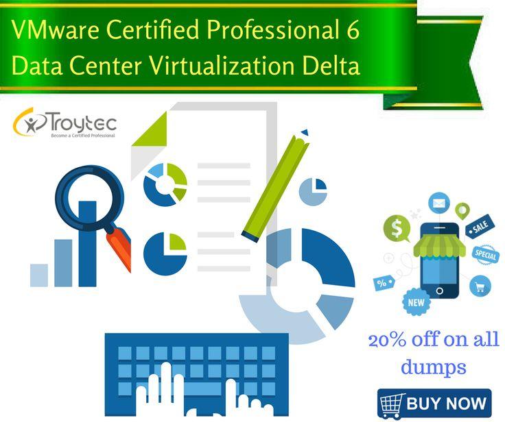 #VMware Certified #Professional 6   Data Center #Virtualization Delta Exam #Code- 2V0-621D visit@:http://www.troytec.com/2V0-621D-exams.html
