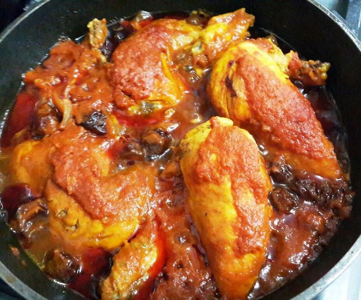 Persian Chicken (Morgh)
