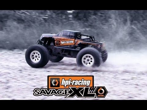 HPI SAVAGE XL OCTANE - RUNNING! - YouTube
