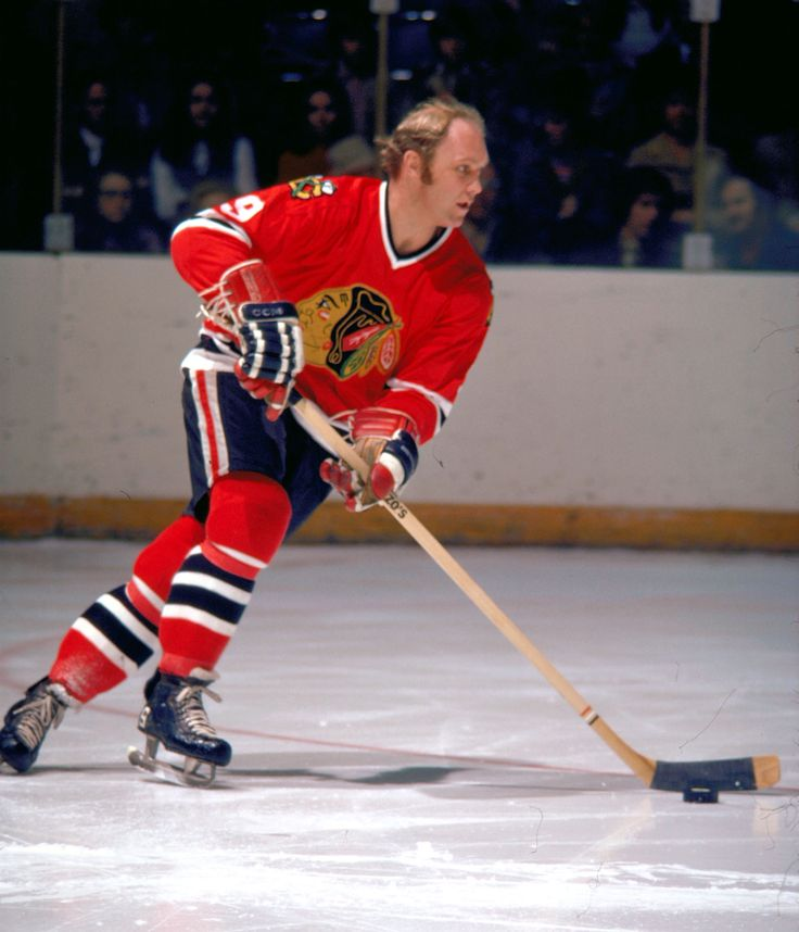 Bobby Hull, Chicago Blackhawks... 102 mph slap-shot