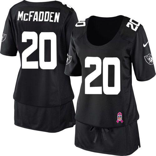 ... womens nike oakland raiders 20 darren mcfadden elite black breast  cancer awareness jersey 128.99 nike limited 0ecf197dc