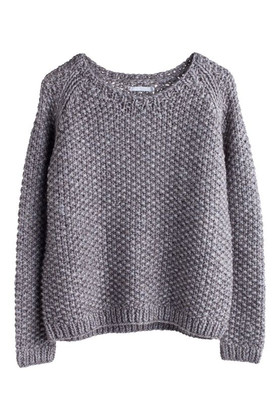 Need it. Think I'll adapt this raglan sleeve sweater pattern to suit by substituting the texture and cable patterns for moss stitch: http://www.ravelry.com/patterns/library/mango-smoothie-2