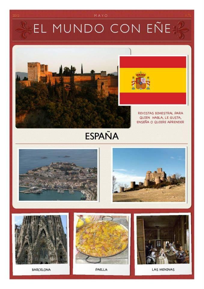 El Mundo con Eñe: España (N.6) | Aprender español con Delearte