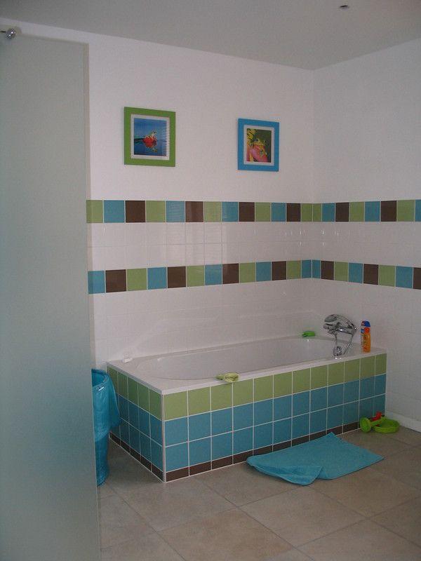 17 meilleures images propos de salle de bain enfants sur - Stickers salle de bain enfant ...