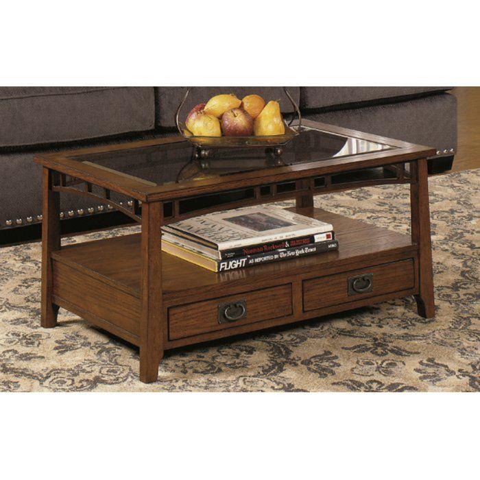 landrienne rectangular coffee table