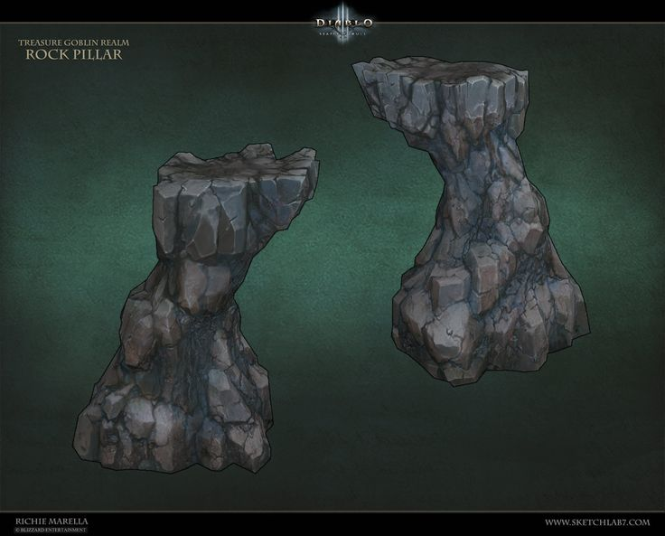 Greed Realm Rocks, Richie Marella on ArtStation at https://www.artstation.com/artwork/greed-realm-rocks