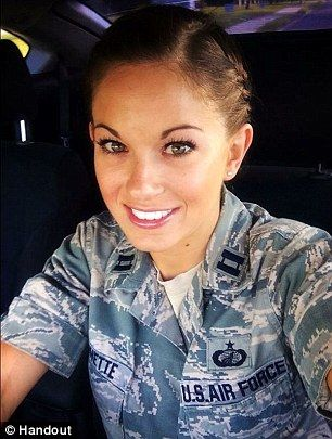 Air Force Reserve Capt. Jamie Brunette #HonorOurWarriors #22adayis22toomany