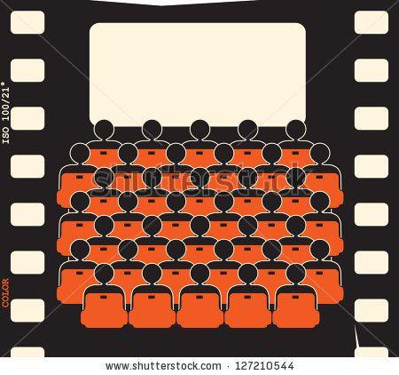 movie theater - film strip by igor kisselev, via Shutterstock