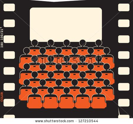movie theater - film strip by igor kisselev, via Shutterstock