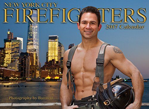 2017 New York Firefighters Calendar  This is the 22nd year Battman has photographed & published a The New York City Firefighters calendar. 12 firemen photographed around New York City, from the World Trade Center to Times Square.