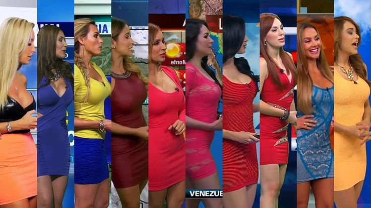 Hottest Weather Girls Compilation - My Top 10