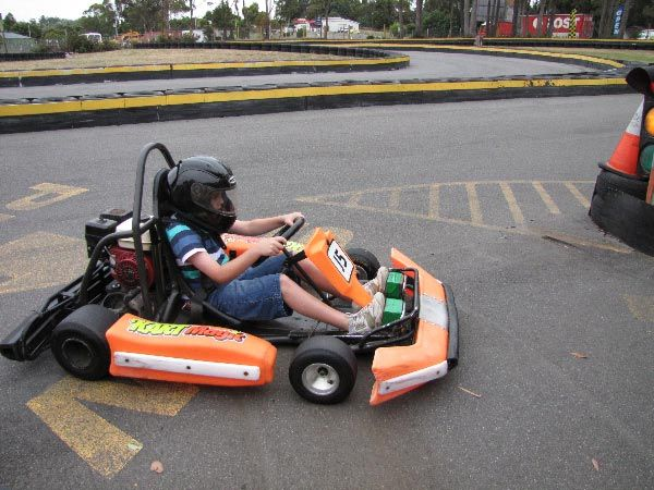 Kart Magic, part of the travelling with kids itinerary from @Think Tasmania