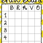 This Bravo board is a great tool to use with your classroom management.  To positively reward students for on-task behavior, allow them to write th...