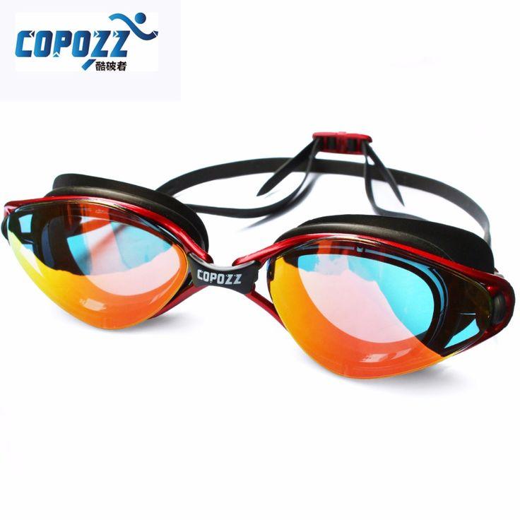 Profesional a Estrenar Anti-Fog/Romper UV Ajustable Gafas de Natación hombres mujeres Impermeable de silicona gafas Gafas adultos