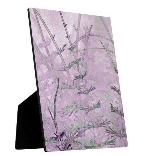 Horsetail Grass/Stems Photo Plaque