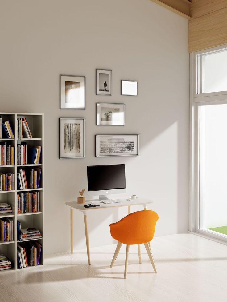 Lm Single Desk - Dove Seating