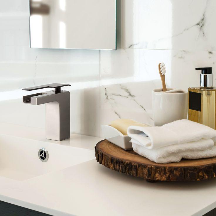 Mezcladora monomando para baño. Baños modernos.