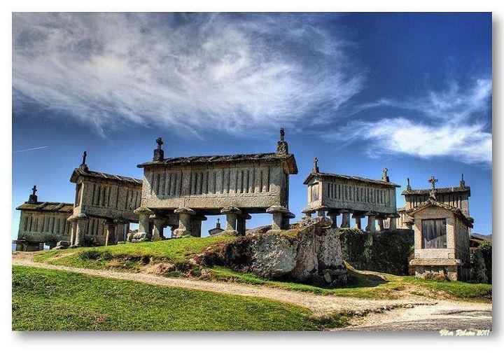 """""""Espigueiros"""" - Soajo - Arcos de Valdevez - Portugal"""