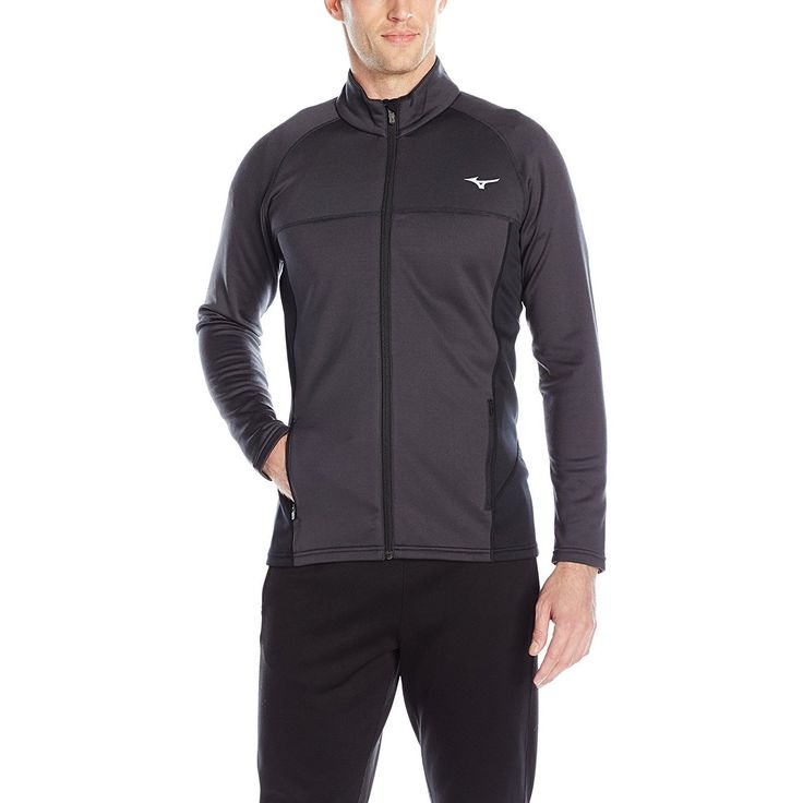 Mizuno Running Men's Breath Thermo Fleece Jacket