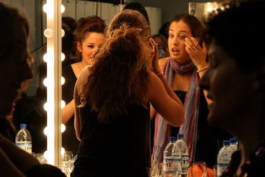 How to apply theater make up