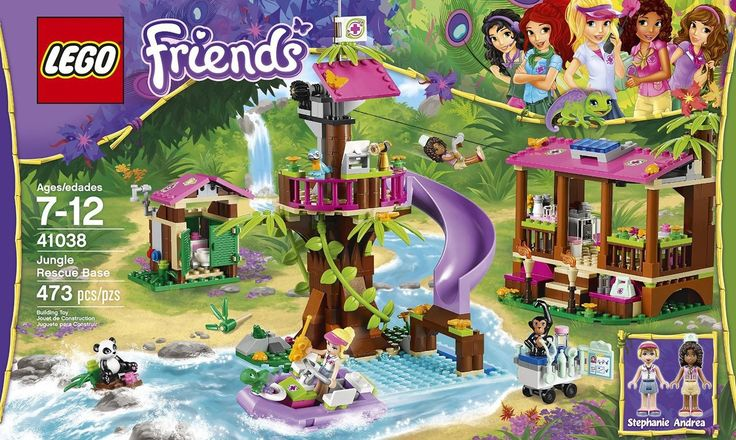 LEGO Friends Jungle Rescue Base 41038 - Discount Toys USA