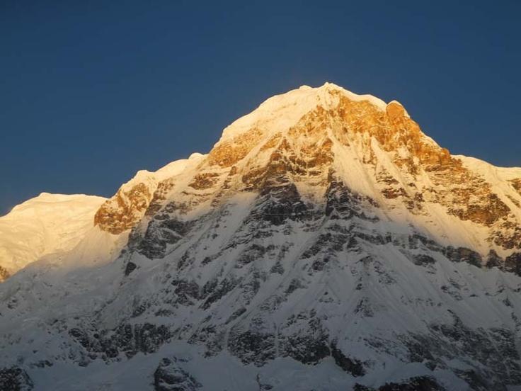 Sunrise Annapurna South