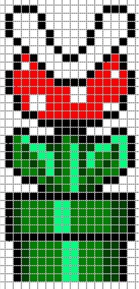 Pixel Art Fleur Mario