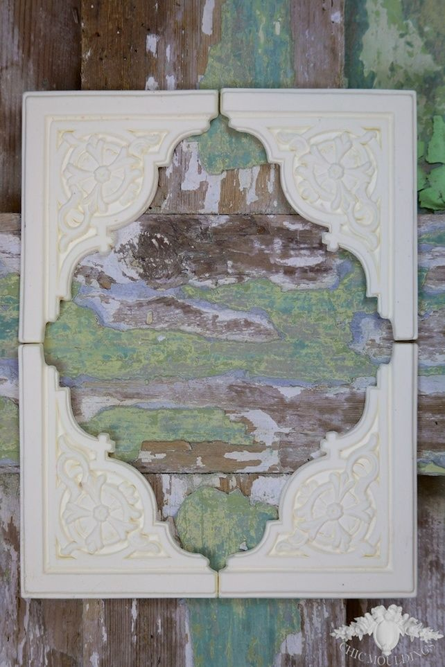 Shabby Chic Mouldings Furniture Appliques French Regency Corners Set 4 Trim  DIY £14.99 Our Full