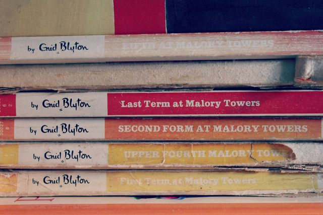 Enid Blyton's Malory Towers - I read them all...many times and loved them.