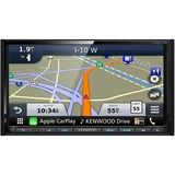 "Kenwood - 7"" - Android Auto/Apple CarPlay™ - Built-in Navigation - Bluetooth - In-Dash CD/DVD/DM Receiver - Black"