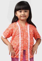 Van Batik  Van Batik Kebaya Top Orange