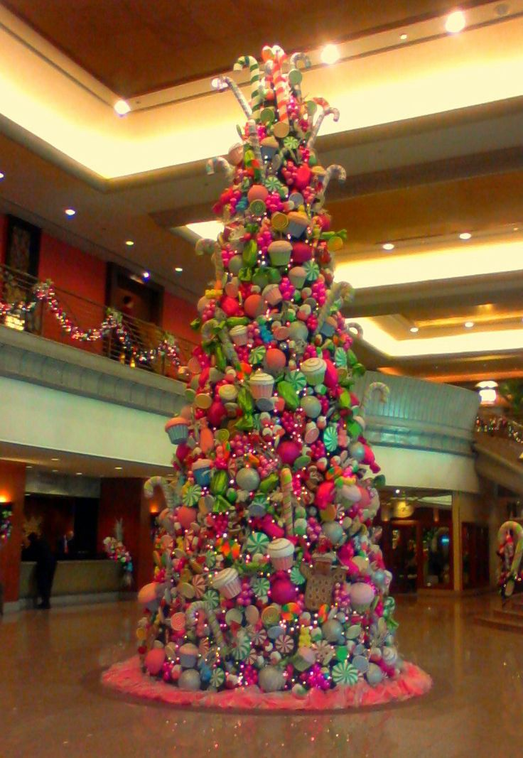 166 best 9. Candy Land Christmas tree images on Pinterest ...