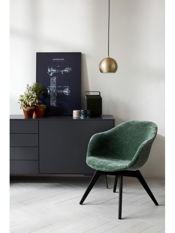Adelaide green lounge chair