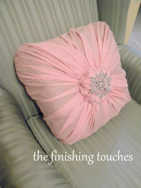 130 Best Images About Pillows No Sew On Pinterest