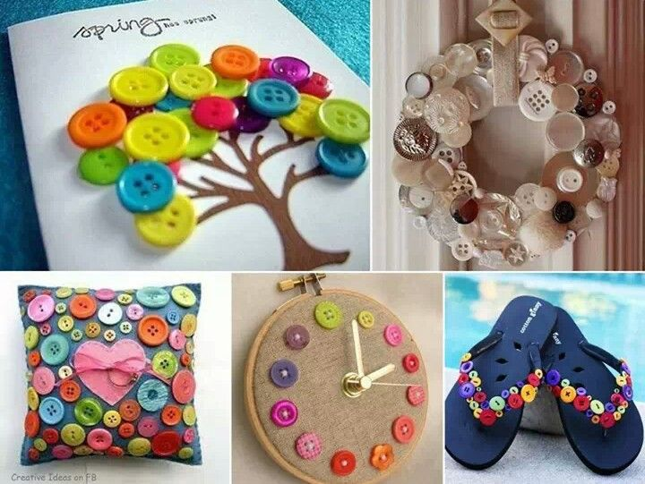 Button craft ideas great ideas pinterest for Button crafts for adults
