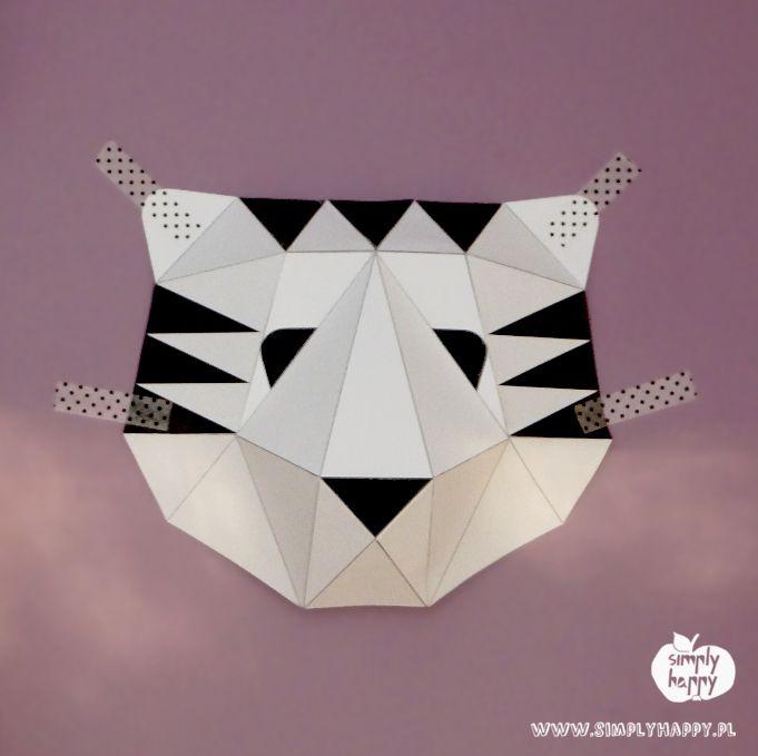 Print & DIY simply happy paper tiger