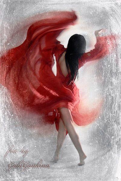 When I dance ~