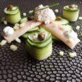 Recept gerookte paling met komkommer