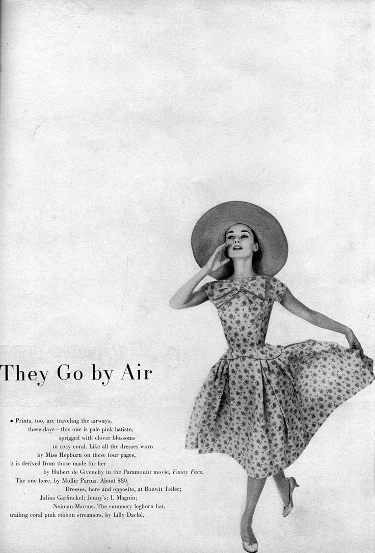 fakingfashion: Harper's Bazaar l Summer Fashion: Cotton is Queen l Richard Avedon
