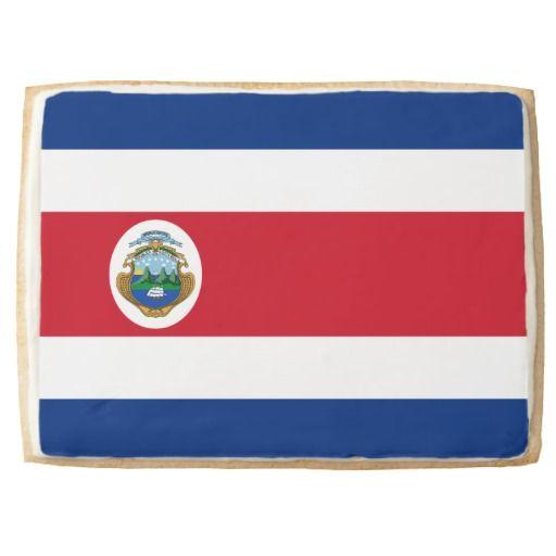 Costa Rican flag Cookie Jumbo Cookie