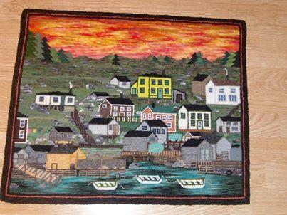 History Of Rug Hooking In Newfoundland