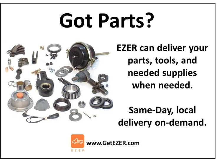 Get needed parts, tools, and supplies delivered the same day with EZER.   #GetEZER #LocalDelivery #OnDemand #B2C #B2B #HomeDelivery #LastMile #Distribution #eCommerce #Logistics #Parts #Supplies #AutoParts #MachineShop #Machining  #Fulfillment #warehouse #Business #SmallBusiness #Courier #SameDay #JIT #LocalBusiness #SoCal #SouthernCalifornia #InlandEmpire #IE #MIN #MN #StPaul #EZER