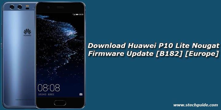 Huawei P10 Lite Android Nougat FirmwareUpdateis now available for download. The ROM packs with the latest Android 7.0 Nougat firmware whichis based on the latestEMUI 5.1 OS. The update is an official build and files are uploaded on official Huawei server. If you want toflash stock B182...